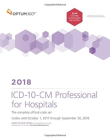 Image for ICD-10-CM Professional for Hospitals 2018