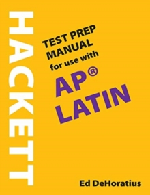 Image for A Hackett Test Prep Manual for Use with AP (R) Latin
