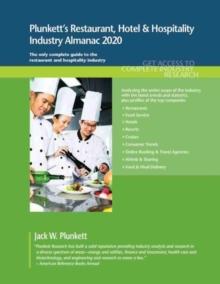 Image for Plunkett's Restaurant, Hotel & Hospitality Industry Almanac 2020