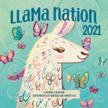 Image for Llama Nation 2021 : 16-Month Calendar - September 2020 through December 2021