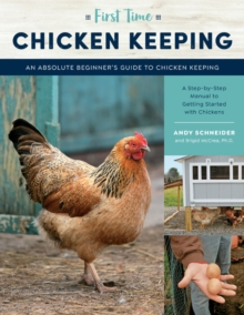 Image for First time chicken keeping  : an absolute beginner's guide to keeping chickens