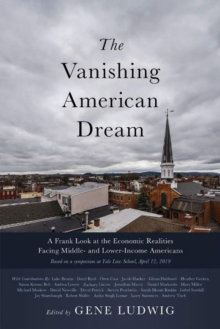 Image for The Vanishing American Dream : A Frank Look at the Economic Realities Facing Middle- and Lower-Income Americans