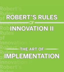 Image for Robert's Rules of Innovation II