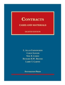 Image for Cases and materials on contracts