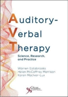 Image for Auditory-Verbal Therapy : Science, Research, and Practice