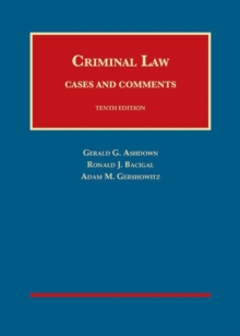 Image for Criminal Law - CasebookPlus