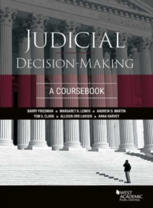 Image for Judicial Decision-Making : A Coursebook