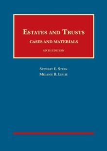 Image for Estates and Trusts, Cases and Materials