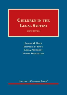 Image for Children in the Legal System