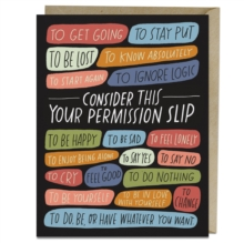 Image for 6-Pack Emily McDowell & Friends Permission Slip Card