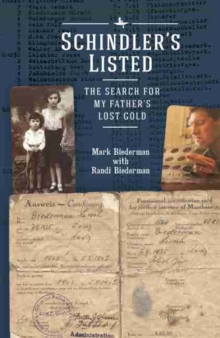 Image for Schindler's Listed : The Search for My Father and His Lost Gold