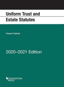 Image for Uniform Trust and Estate Statutes, 2020-2021 Edition