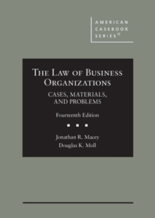 Image for The Law of Business Organizations : Cases, Materials, and Problems - CasebookPlus