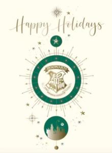 Image for Harry Potter: Hogwarts Crest Holiday Embellished Card