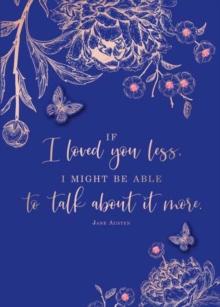 Image for Jane Austen If I Loved You Less Embellished Card