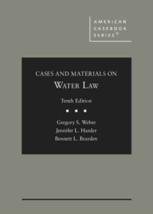 Image for Cases and Materials on Water Law