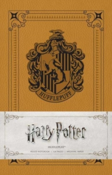 Image for Harry Potter: Hufflepuff Ruled Notebook