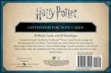 Image for Harry Potter: Gryffindor Foil Note Cards