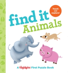 Image for Find it animals  : baby's first puzzle book