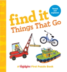 Image for Find it things that go  : baby's first puzzle book