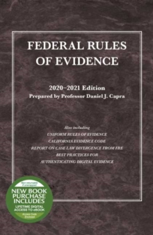 Image for Federal Rules of Evidence, with Faigman Evidence Map, 2020-2021 Edition