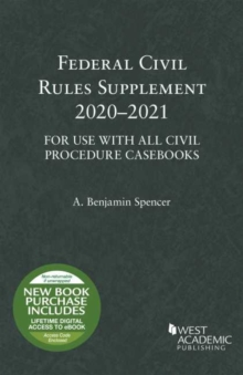 Image for Federal Civil Rules Supplement, 2020-2021, For Use with All Civil Procedure Casebooks