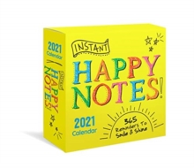 Image for INSTANT HAPPY NOTES BOXED CALENDAR 2021
