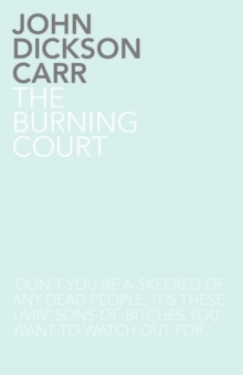 Image for The Burning Court
