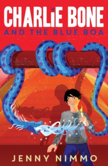 Image for Charlie Bone and the blue boa