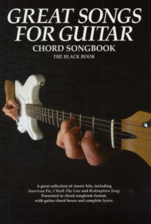 Image for Great Songs for Guitar - Black Book