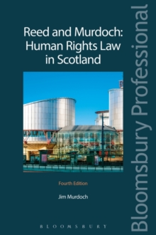 Image for Reed and Murdoch - human rights law in Scotland