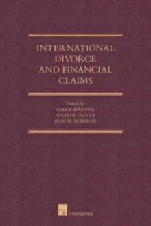 Image for International divorce and financial claims  : the common law clash with civil law