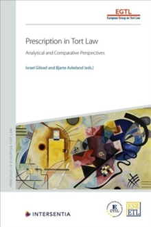 Image for Prescription in Tort Law : Analytical and Comparative Perspectives