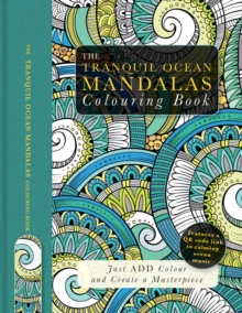 Image for The tranquil ocean mandalas colouring book