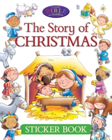Image for The Story of Christmas Sticker book