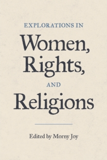 Image for Explorations in women, rights, and religions