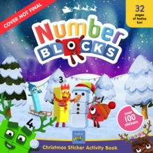 Image for Numberblocks Christmas Sticker Activity Book