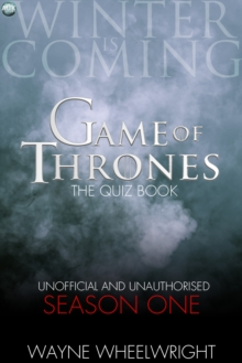 Image for Game Of Thrones The Quiz Book -  Season One