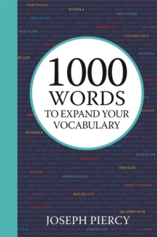 Image for 1000 words to expand your vocabulary