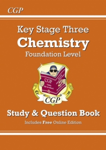 Image for KS3 Chemistry Study & Question Book - Foundation