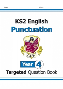 Image for KS2 English Targeted Question Book: Punctuation - Year 4