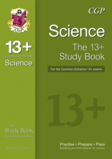 Image for 13+ Science Study Book for the Common Entrance Exams