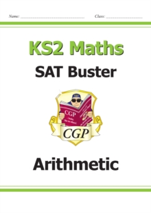 Image for New KS2 Maths SAT Buster: Arithmetic - Book 1 (for the 2022 tests)