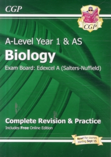 Image for A-Level Biology: Edexcel A Year 1 & AS Complete Revision & Practice with Online Edition