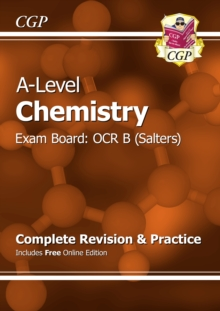 Image for A-Level Chemistry: OCR B Year 1 & 2 Complete Revision & Practice with Online Edition