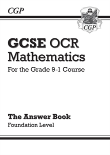 Image for GCSE Maths OCR Answers for Workbook: Foundation - for the Grade 9-1 Course
