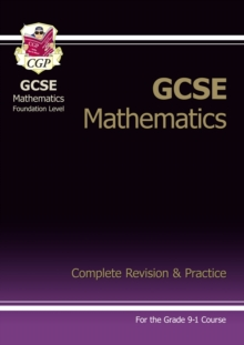Image for New GCSE Maths Complete Revision & Practice: Foundation inc Online Ed, Videos & Quizzes