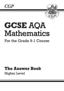 Image for GCSE AQA mathematics for the grade 9-1 courseHigher level,: The answer book