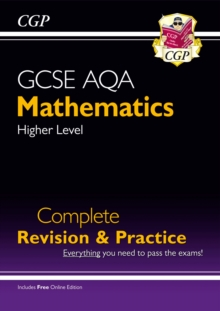 Image for GCSE AQA mathematics  : for the new grade 9-1 courseHigher level,: Complete revision & practice