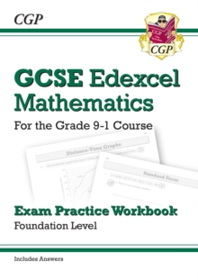 Image for GCSE Maths Edexcel Exam Practice Workbook: Foundation - for the Grade 9-1 Course (with Answers)